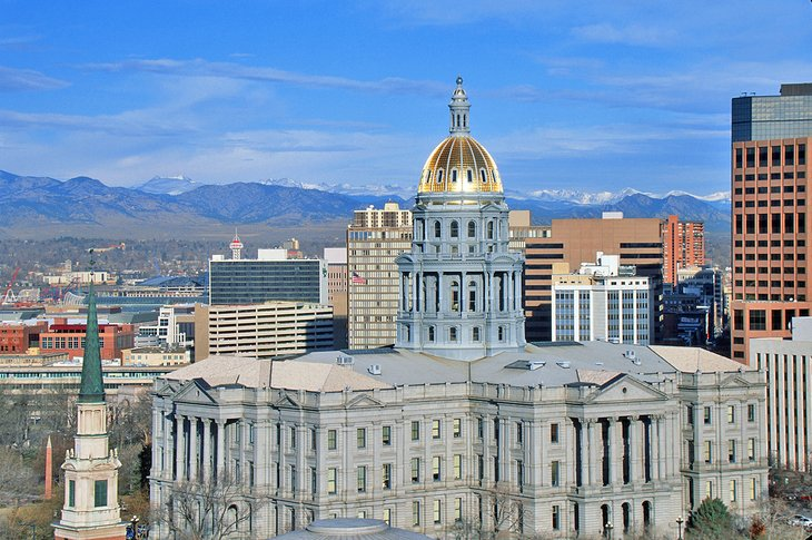 Colorado State Capitol, Downtown Denver