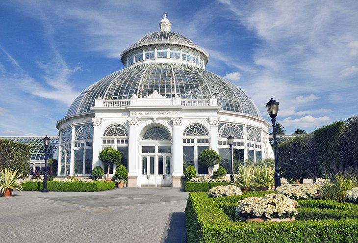 The Enid A. Haupt Conservatory at the New York Botanical Garden