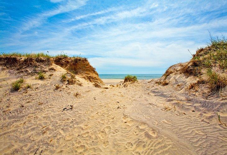 Playa principal de Sagg