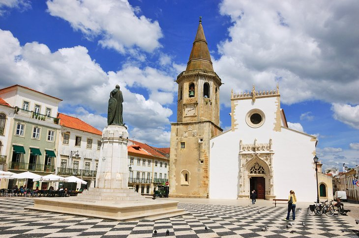 Igreja de Sao Joao Baptista on Tomar's main square
