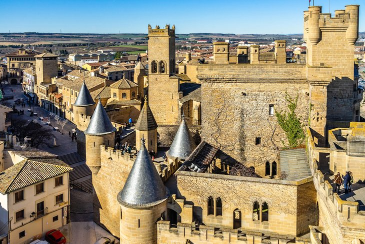 Palace of the Kings of Navarre (Olite Castle)