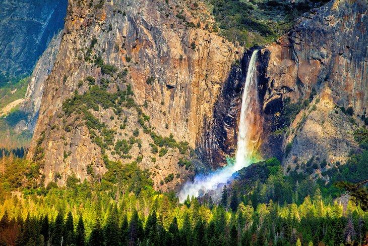 Bridalveil Fall, Parque Nacional Yosemite