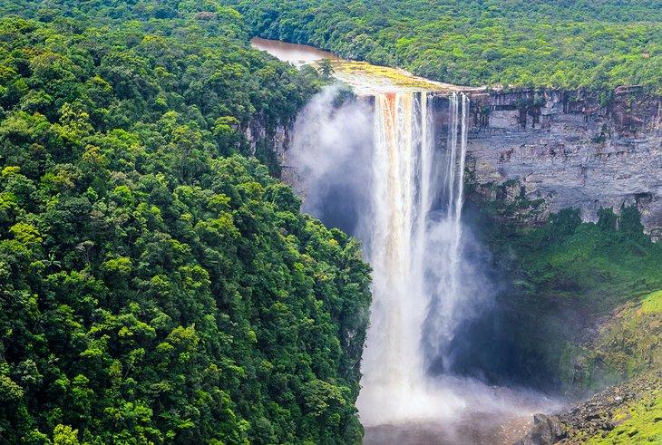 Cataratas Kaieteur en Guyana