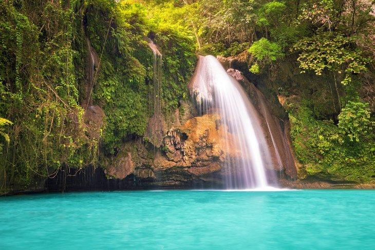Área de las cataratas, isla de Cebú