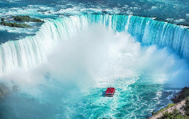 Horseshoe Falls en las Cataratas del Niágara