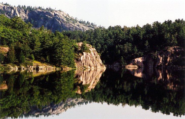 George Lake, Parque Provincial de Killarney