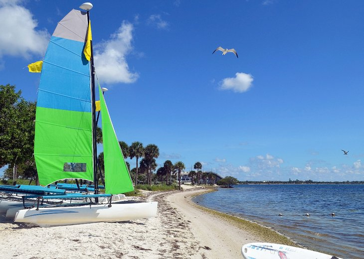 Catamaran on Hobie Beach