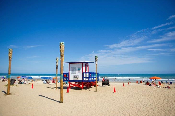 Torre de salvavidas en Cocoa Beach