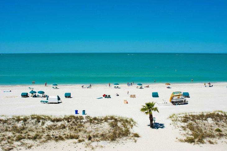 Playa de la isla del tesoro