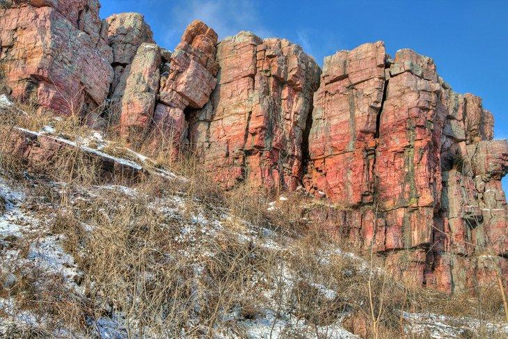 Parque estatal Blue Mounds