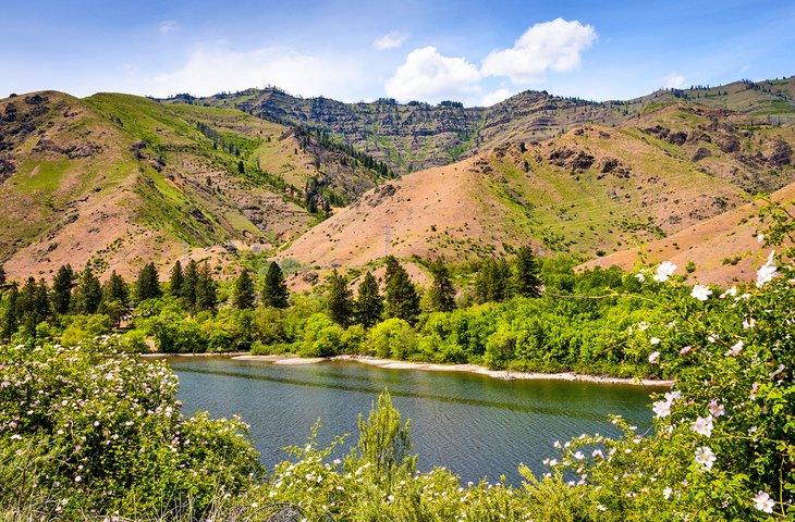 Área recreativa nacional Hells Canyon