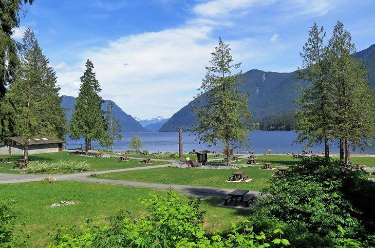 Alouette Lake, Parque Provincial Golden Ears