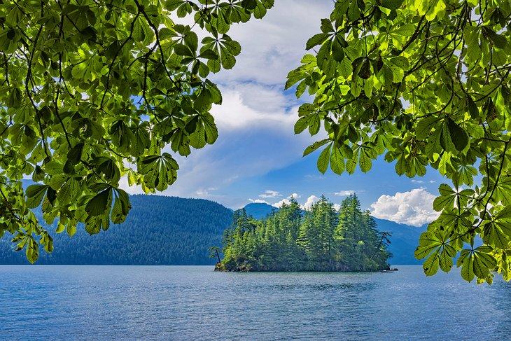 Lago Harrison, Parque Provincial Sasquatch