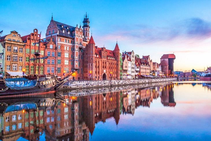 Gdansk Old Town, Poland
