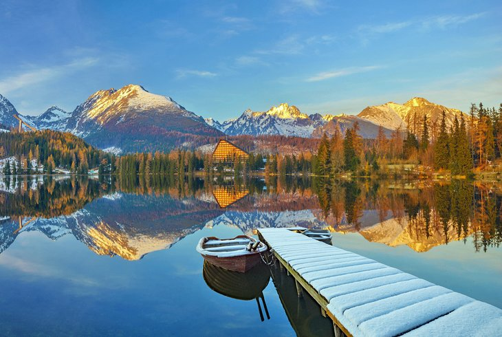 Lake in the High Tatras, Slovakia