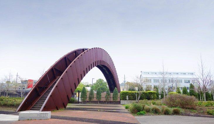 Puente de Piety Street, Crescent Park