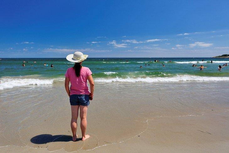 Playa de la ciudad de Narragansett
