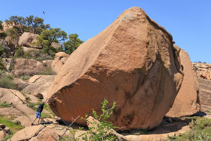 Enchanted Rock State Natural Area Campground