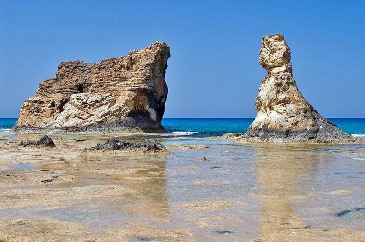 Baño de Cleopatra en la playa de Cleopatra