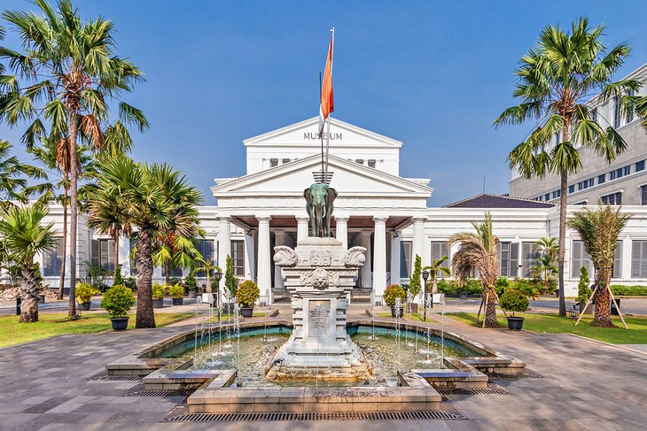 The Museum Nasional in Jakarta
