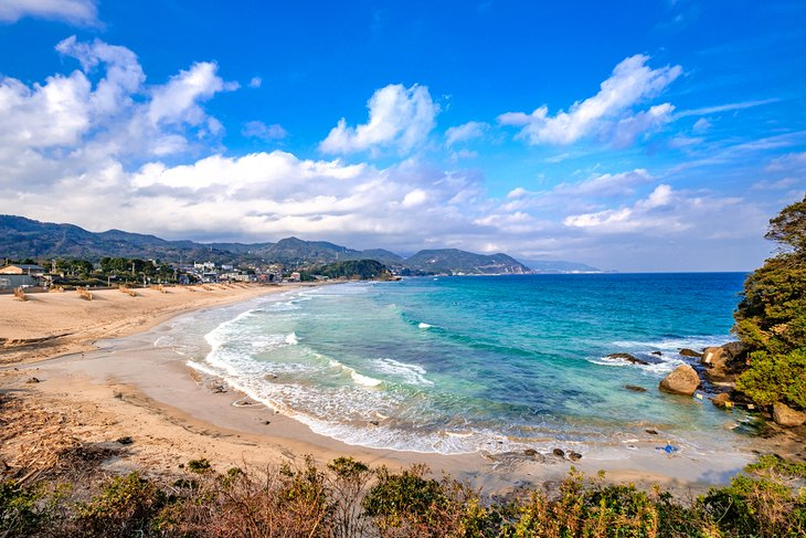 Izu Peninsula beach