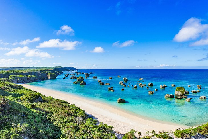 Beautiful Okinawa beach