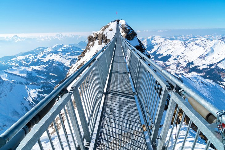 Titlis Cliff Walk, Europe's highest suspension bridge