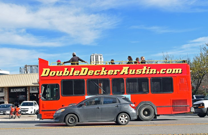 Double Decker Austin Tour