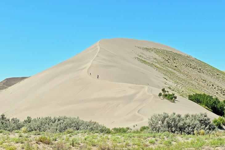 La ruta de senderismo de las dunas