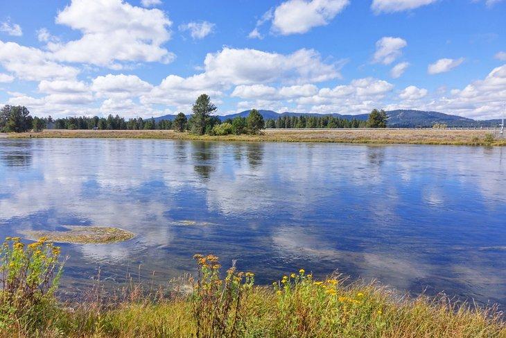 Henry's Fork del río Snake en el Parque Estatal Harriman