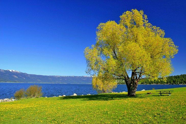 Parque estatal Lake Cascade