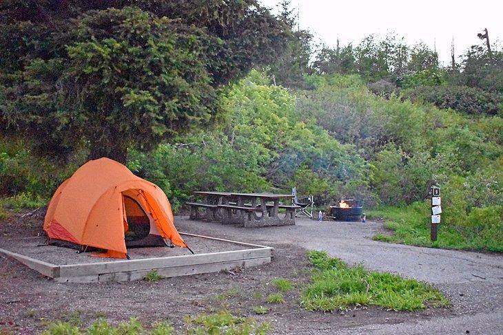 Campamento Shafer Butte