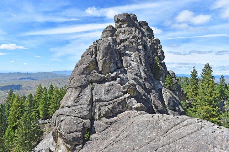 Pila de roca