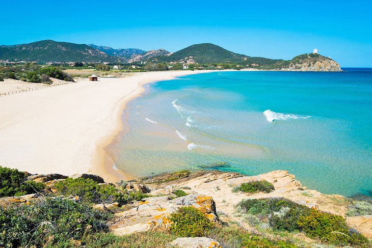 Playa Chia, Costa Sur