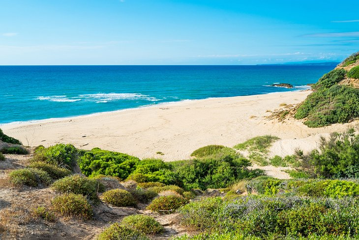 Playa Scivu, Costa Verde