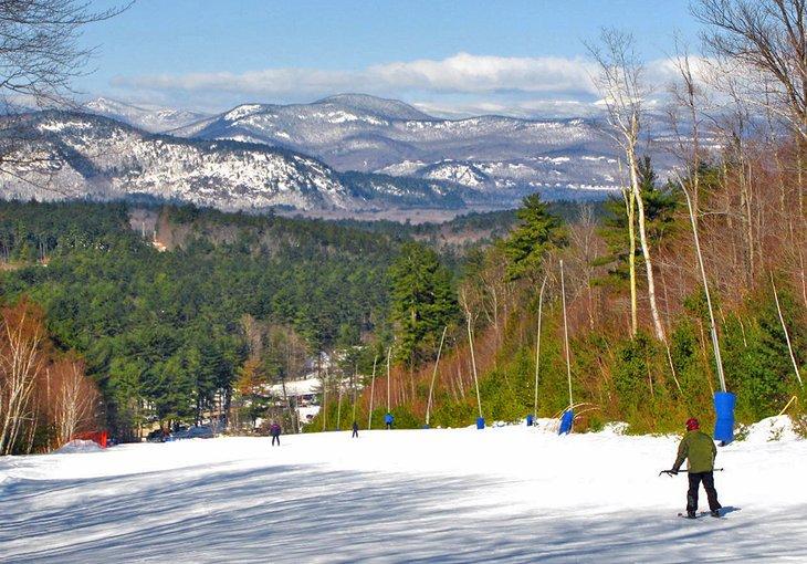 Montaña Cranmore, monte.  Estación de esquí de Washington Valley