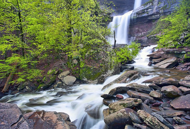 Kaaterskill Falls in the Catskill Mountains