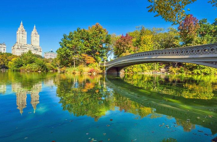 Bow Bridge en Central Park