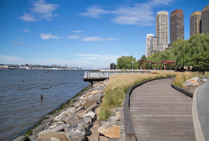 Parque del río Hudson