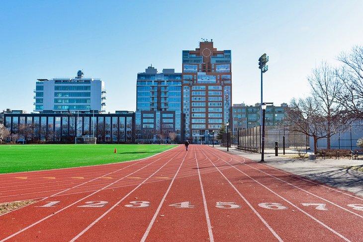 Pista de atletismo en McCarren Park