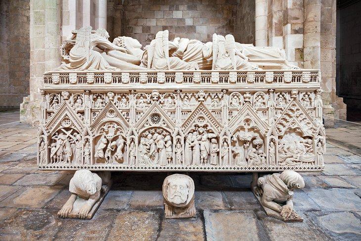 Tomb of Inês de Castro, Monastery of Alcobaca