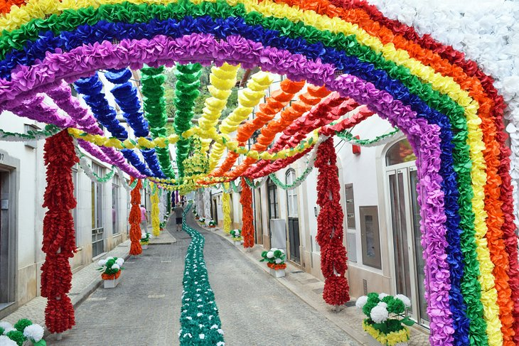 Festival of the Trays in Tomar, Portugal
