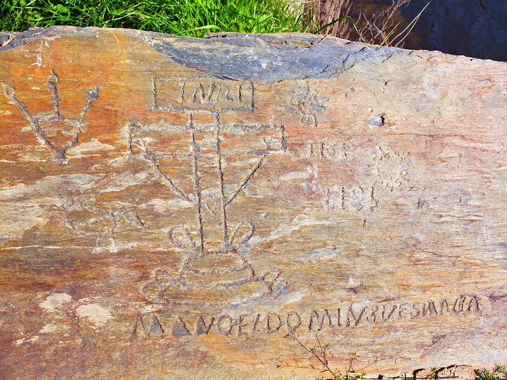Prehistoric carvings in Côa Valley Archaeological Park