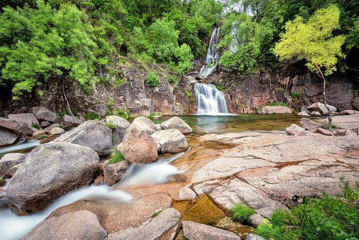 Waterfall in Parque Nacional da Peneda-Gerês