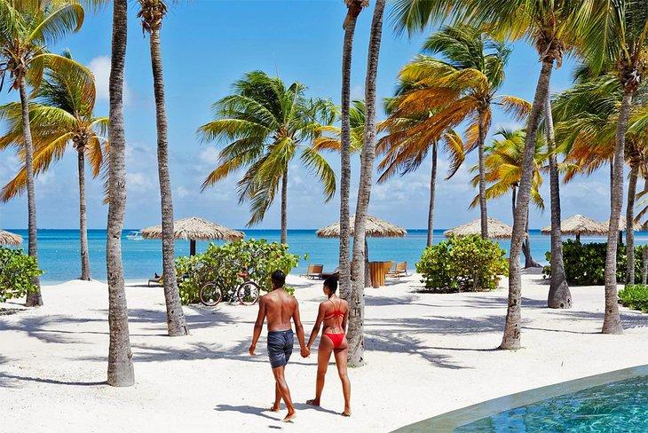 Île de Jumby Bay, Antigua