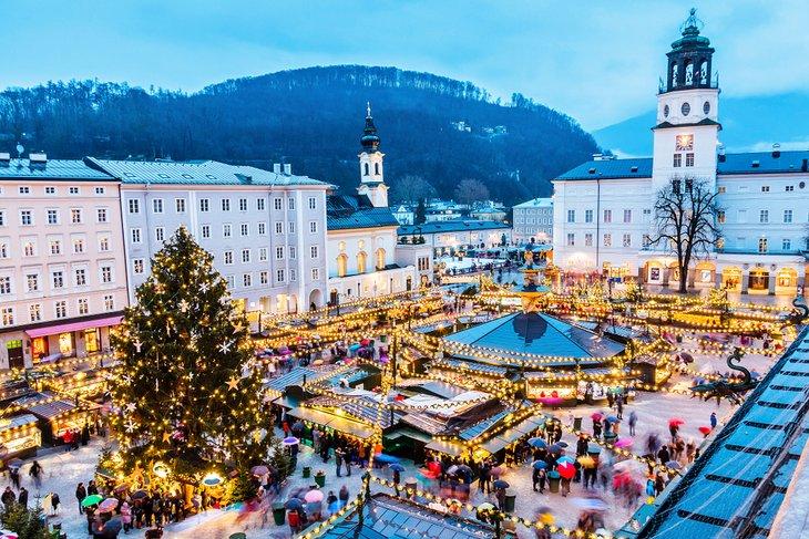 Salzburg's Christkindl market