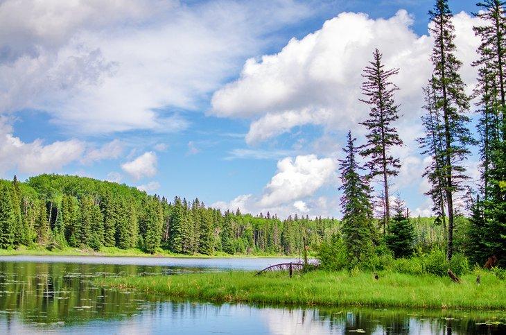 Lago Hickey, Parque Provincial Duck Mountain