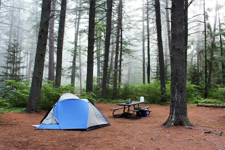 14 Best Places for Camping in Ontario | PlanetWare