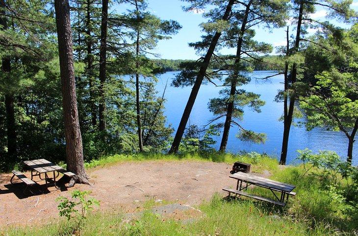 Camping en el Parque Provincial de Oastler
