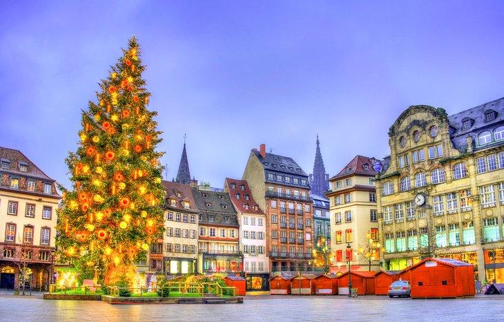 Mercado de Navidad en Estrasburgo